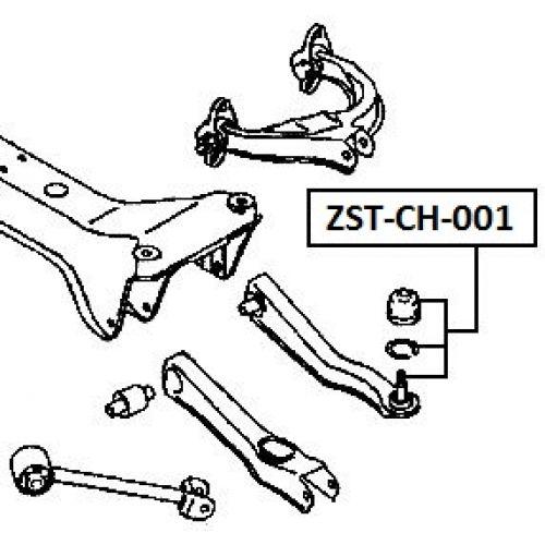 Feb Ep Rameno Zadn Chrysler Sebring 03 Mitsubishi Galant Usa 92